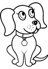 Descargar dibujos de perros para pintar