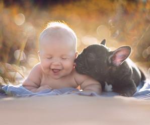 Las Cinco Fotos De Internet Mas Tiernas De Bebes Con Perros
