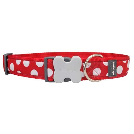 Imagenes de collares rojos para perro